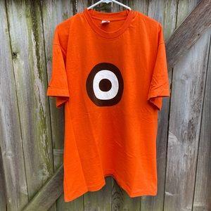 Vintage 90s Pearl Jam Bullseye Tour T-Shirt RARE